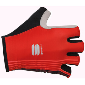 Sportful Bodyfit Pro Gloves red/black/coral fluo